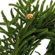 Artificial cypress wreath with cones Decorative wreath cypress Ø55cm