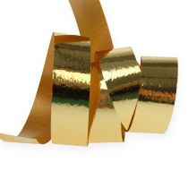 Curling ribbon shiny 10mm 250m gold