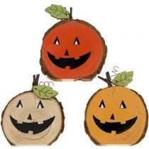 Pumpkin Mix of wood 6cm 12pcs
