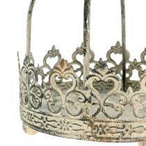 Crown for hanging antique cream Ø10,5cm