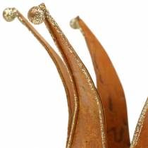 Crown patina Gold Ø6.5 / 8.5cm 2pcs in a set