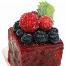 Artificial Mini Cakes Assorted 4×4cm 5pcs