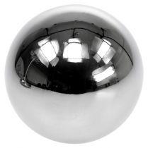 Decorative balls stainless steel Ø11cm 2pcs
