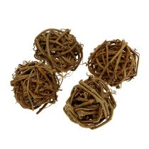 Ball of vine Ø4,5cm 20pcs