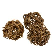 Ball of vine Ø7cm 10pcs