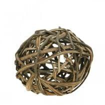 Deco ball natural vinewood Ø20cm