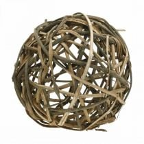 Deco ball natural vinewood Ø25cm