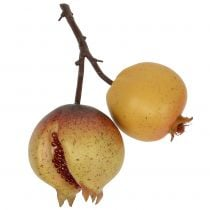 Artificial fruit pomegranate with seeds Ø6cm - Ø7cm L18cm
