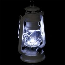 LED lantern dimmable warm white 24.5cm with 15 lamps