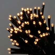 LED fairy lights black, warm white 448er for outdoor 3m