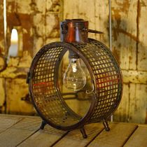 Solar lamp metal lamp balcony deco industrial design Ø23cm