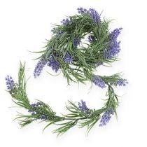 Lavender garland violet 175cm