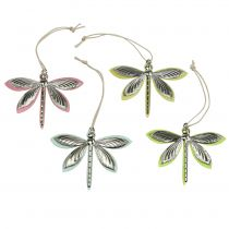 Dragonflies for hanging assorted 7cm x 5.5cm 28pcs