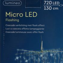 Light Cascade Micro-LED Cold White 720er H130cm