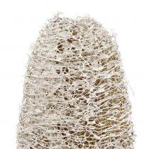 Luffa small on a stick white washed 25pcs