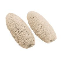 Loofah small bleached 50pcs