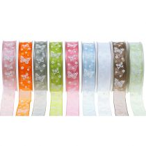 Organza ribbon Butterfly 25mm 20m