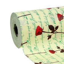 Cuff paper 25cm 100m Creme Rose