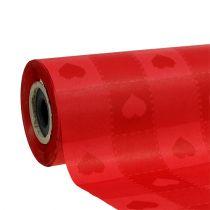 Cuff paper 25cm 100m Red Hearts