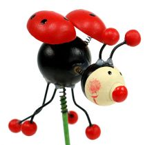 Ladybug on the rod 5cm 12pcs