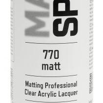 Mat spray professional acrylic paint 400ml