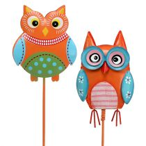 Metal owl 7cm on the wire sort. 4st