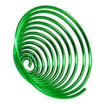 Metal snail apple green 2mm 120cm