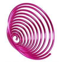 Metal snail Pink 2mm 120cm