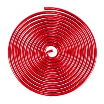 Aluminum wire worm red 2mm 120cm