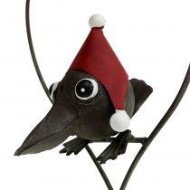 Bird in the Heart Deco Hanger Metal Gray 48cm