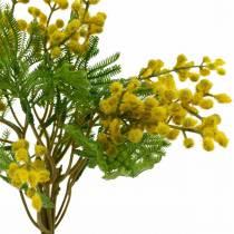 Mimosa yellow artificial artificial plant bundle 39cm