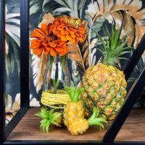 Artificial mini pineapple H6.5cm - 8cm 6pcs