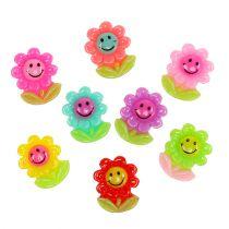 Mini flowers for gluing 2cm 24pcs
