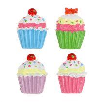 Mini Cupcakes colored 2,5cm 60pcs