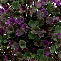 Mini-ball purple with flowers Ø12cm 1pc