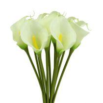 Mini Calla artificially white L 28cm 12pcs