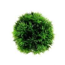 Mini grass ball green Ø12cm 1p