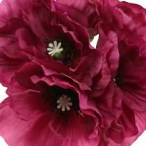Poppy purple 29cm 6pcs