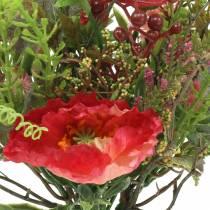 Bouquet autumn poppy 25cm