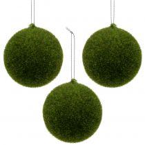Moss ball Ø6cm green 12pcs
