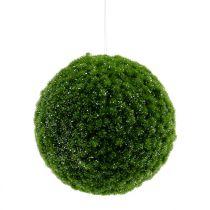 Moss ball green with mica Ø15cm