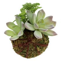 Kokedama Artificial Green Ø8cm