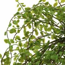 Artificial Muehlenbeckia bush green 42cm