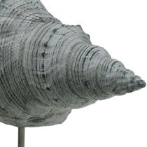 Garden figure shell on the stand H30cm