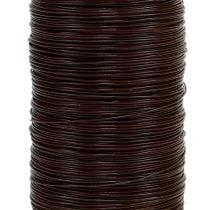Myrtle wire brown 0.35mm 100g