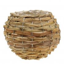 Basket ball for planting light brown Ø21cm