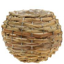 Basket ball for planting light brown Ø25cm