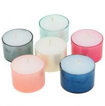 Colorlights tealights pastel assorted 40pcs