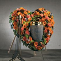OASIS® Bioline® Deco urn heart 65cm with stand