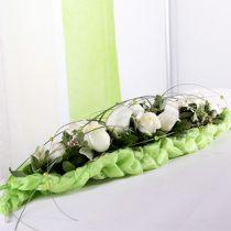 Floral foam brick table decoration green 22cm x 7cm x 5cm 10pcs
